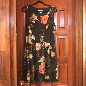 Jessica Simpson Black Floral Dress